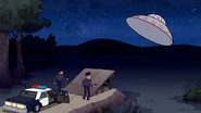 S3E34.019 The Cops Looking at the Flying Saucer