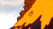 S6E03.254 The Cheezers Card Landing in Lava
