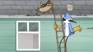 S7E19.041 Mordecai and Rigby Tossing Away Their Spoons