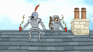 S7E26.143 Wearing Suits of Armor and Drinking Soda