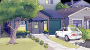 S5E25Eileen's House and Car