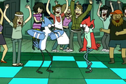 S4E10-Mordecai and Margaret dancing