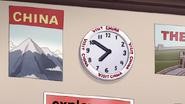 S7E15.013 Visit China Clock