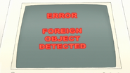 S7E29.116 Error Foreign Object Detected