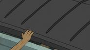 S7E24.036 Rigby Closing the Dumpster