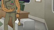 S8E03.094 Rawls Tossing Benson's Clipboard in the Trash
