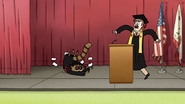 S7E36.256 Rigby Landing on the Stage