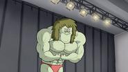 S5E11.052 Young Muscle Man Posing 02