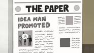 S7E17.114 The Paper - Idea Man Promoted
