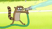 S8E24.013 Rigby Spraying Water