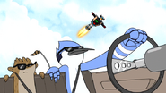 S6E24.028 Mordecai and Rigby Driving in a Car