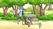 S2E23 Rigby And Mordecai Going To Fountain