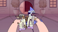 S4E31.192 Mordecai and Rigby's Double Kick