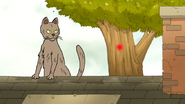 S6E20.015 The Cat Sees a Red Dot