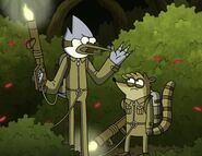 Mordecai Rigby Space Creds