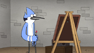 S5E24Mordecai about to Paint
