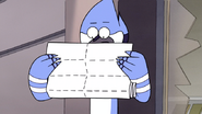 S6E16.156 Mordecai Looking at the Device Codes