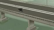 S6E18.037 Suit Running on the Bridge