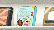 S7E20.184 Donut Factory Holiday 2 Spring Break