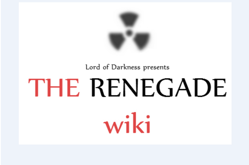 The Renegade Wiki