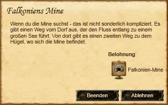 Falkoniens Mine (Quest)