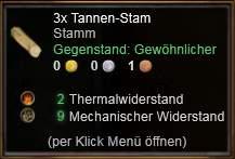 Tannen-Stamm