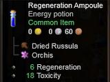 Regeneration Ampoule