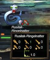 Rusilak-Ringelnatter