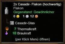 Casadir-Flakon