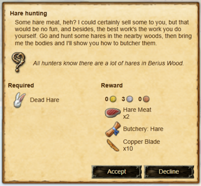 Quest-Hare-hunting