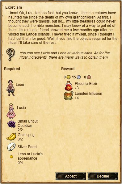 Quest-Exorcism