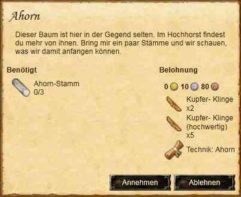 Ahorn (Quest)