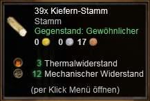 Kiefern-Stamm