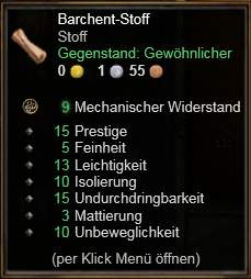 Barchent-Stoff