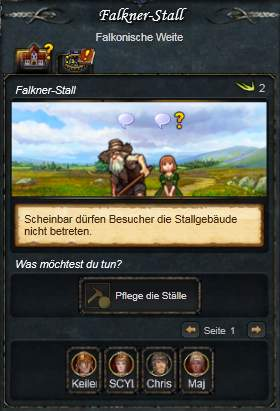 Falkner-Stall