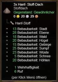 Hanf-Dach