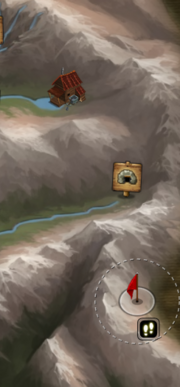 Metal pet location