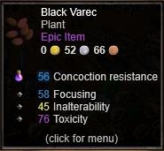 Black Varec