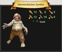Heimtückischer Zombie