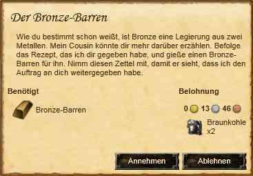 Der Bronze-Barren