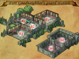 Fort Goodneighbor's guard station