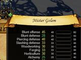 Mister Golem