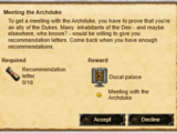 Meeting the Archduke