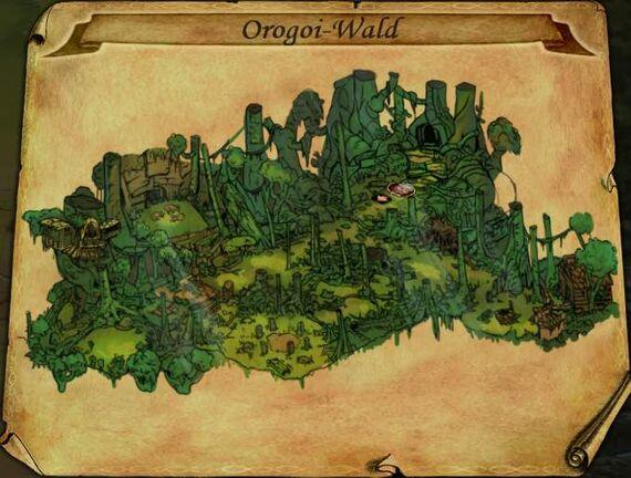 Orogoi-Wald