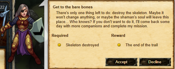 Get to the bare bones