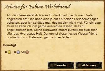 Arbeite für Fabian Wirbelwind