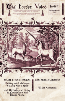 The Forest Voice Cover Issue One 2011
