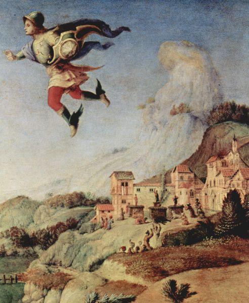 817f5bc73 Perseus. Perseus utilizing his winged sandals.