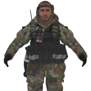 Pierre Disguised As A Axiom Paladin During Stealth Joint Operations With N.O.V.A And JTF SOU