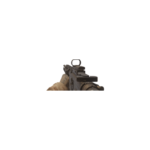 The M4A1 Red Dot Sight Seen Holding By <a href=